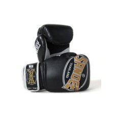 Sandee Kids Cool-Tec Boxing Gloves Muay Thai Kickboxing 4oz 6oz 8oz Black Gold