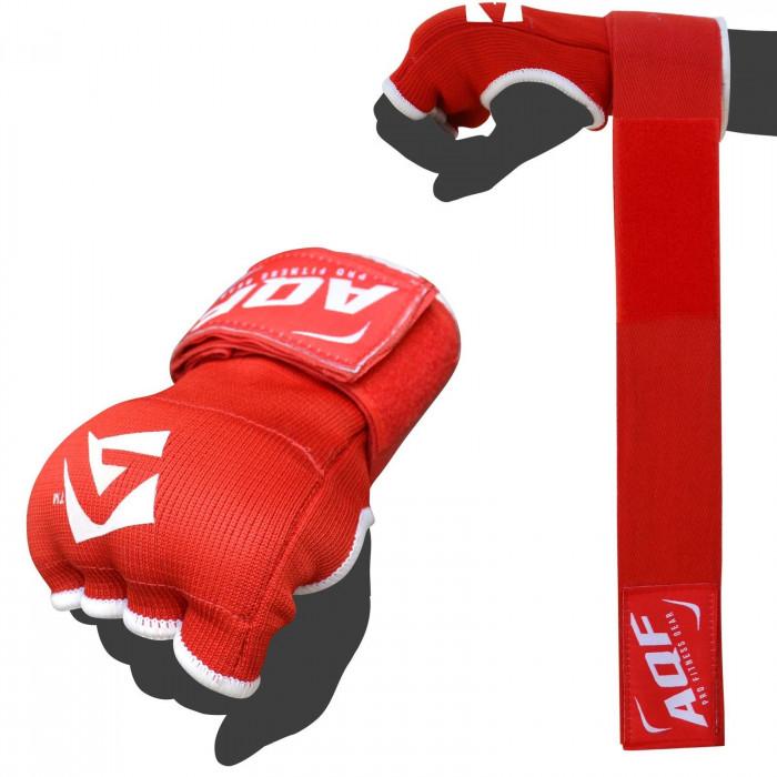 AQF Boxing Gel Gloves Hand wraps Punch Bag Inner Glove MMA Martial Arts UFC Gear