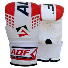 AQF Boxing Gloves Punching Bag Mitts MMA UFC Muay Thai Training Grappling