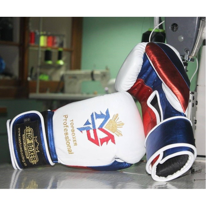 TopBoxer Manny Pacquiao Boxing Gloves Cleto Reyes Inspired