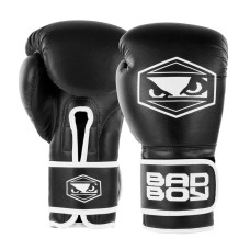 Bad Boy Strike Boxing Gloves Black Boxing Kickboxing Striking Training Sparring