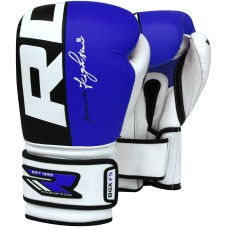 Auth RDX Leather Gel Boxing Gloves Fight,Punch Bag MMA Muay thai Grappling Pad M