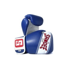 Sandee Sport Boxing Gloves Blue White Muay Thai Boxing Kickboxing K1 Striking