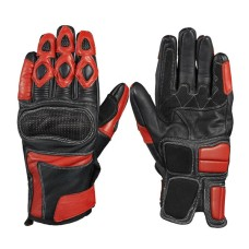 Long Wrist Soft Cowhide Men Racing Motocross Gloves