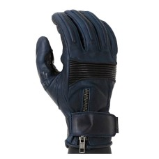 Motorbike Waxed Leather Cafe Racer Gloves
