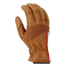 Motorcycle Cafe Racer Classic Leather Summer Gloves