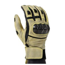 Motorcycle Distressed Leather Motorbike Gloves