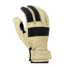 Motorcycle Distressed Leather Motorbike Gloves For Mens