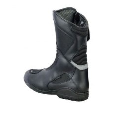 Unisex Breathable Sports Style Leather Motorcycle Boots