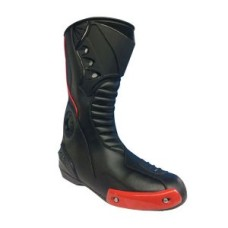 Black And Red Outdoor Rank Motorcycle Protective Breathable Shoes