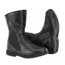 Genuine Leather Men Motorbike-Motorcycle Boots