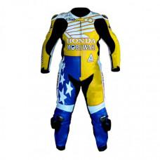 American Honda Moriwaki Motorcycle Leather Suit