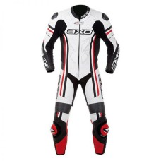 AXO Men's Cowhide Motorcycle Leather Suit