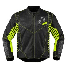 Icon Wireform Motorbike Leather Jacket