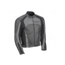 Kawasaki Black Grey Motorcycle Racing Leather Jacket
