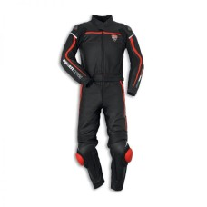 Ducati Corse C2 Two Piece Motorcycle Racing Leather Suit
