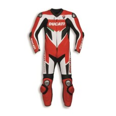 Ducati Moto Leather Ce Rated Racing Suit