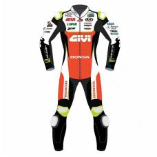 Honda Motorbike Leather Racing Suit Design 2019