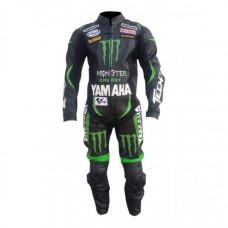 Johan Zarco Yamaha Monster Stye Leather Motogp Suits