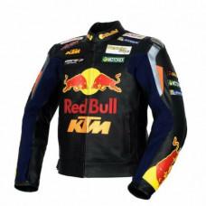 KTM Power Wear MotoGP Leather Jacket Biker Leather Jacket