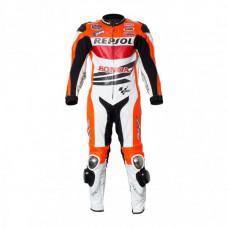 Marc Marquez 2013 Honda Repsol Battlex Motorcycle Racing Leather Suit