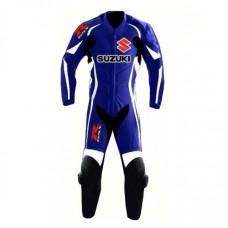 Men's Suzuki GSXR Motorbike Leather Suit