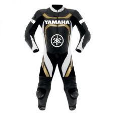 Men's Yamaha Motorcycle Racing Leather Suit