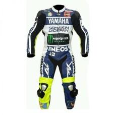 Men's Monster Energy Yamaha Motorcycle Leather Motogp Suit