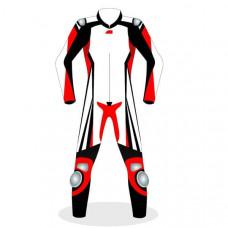 MOTORBIKE MOTORCYCLE RACING BRAND NEW MOTOSHELL LEATHER SUIT DESIGN