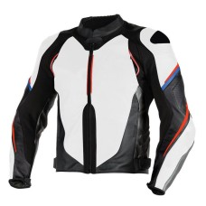 Super Speed D1 Perforated Motorcycle Leather Jacket