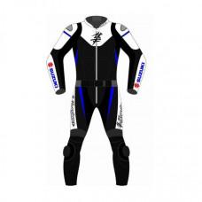 Suzuki Hayabusa Motorcycle Leather Suit