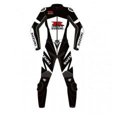 Suzuki Motorbike Leather Racing Suit