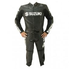 SUZUKI Racing Motorcycle Leather Suit