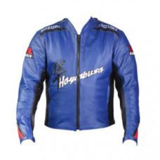 Suzuki Sport Motorbike Leather Jacket