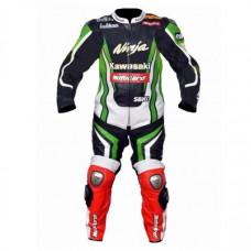 Tom Sykes Kawasaki Motorcycle Leather Motogp Suit