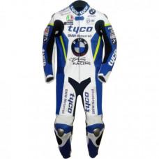 Tyco BMW Motorrad TAS Racing Team Leather Suit For Sale