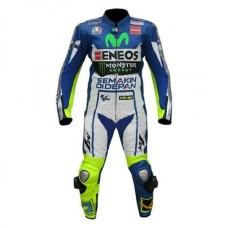 Valentino Rossi Eneos Yamaha Motorcycle Leather Suit