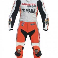 Valentino Rossi Yamaha Padgetts Motorbike Racing Leather Suit
