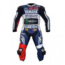 Yamaha Eneos Motorbike Racing Leather Suit