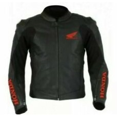 Honda Custom Made Best Quality Racing Leather Jacket For Mens