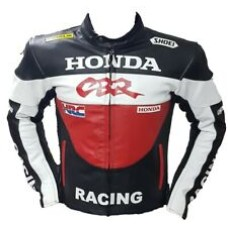 Honda CBR Motorbike Racing Bsst Quality Leather Jacket For Mens