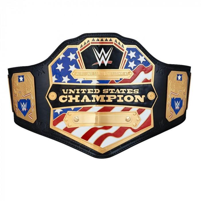 United-state World Wrestling Intercontinental Championship Genuine Leather Belt