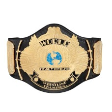 Yellow Wing Eagle Wrestling Championship Heavyweight Leather Belt