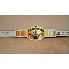 WWF Intercontinental Heavyweight Wrestling Championship Belt.Adult Siz 2mm plate