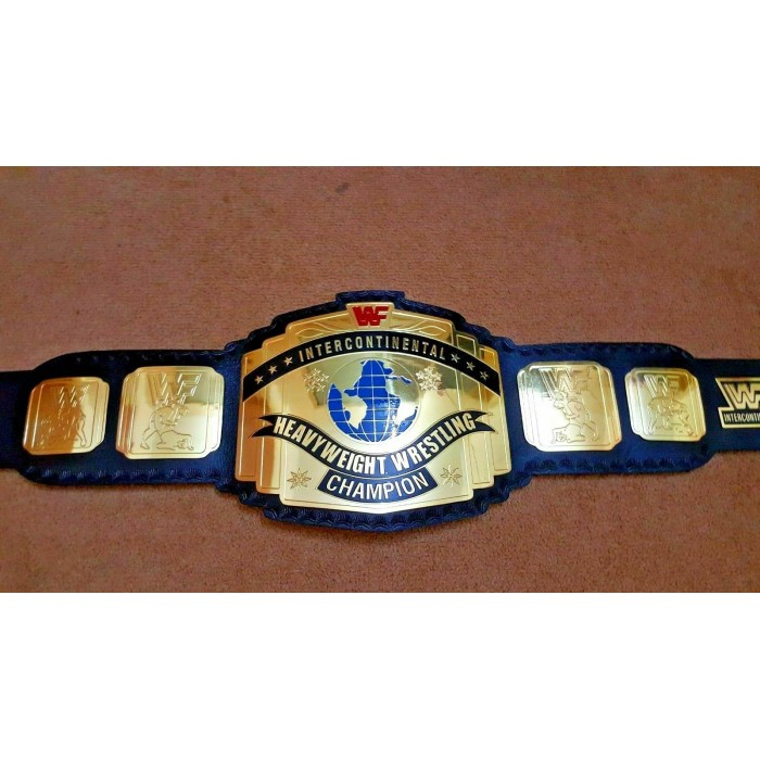WWF Intercontinental Heavyweight Wrestling Championship Belt.Adult Size