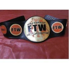 TAZ FTW HEAVYWEIGHT CHAMPIONSHIP BELT IN 2MM BRASS PLATED & FREE SHIPPING