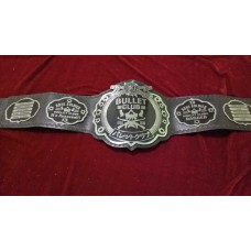 THE ELITTE BULLET CLUB BELT GENIUNE LEATHER METEL PLATED (2mm plates)
