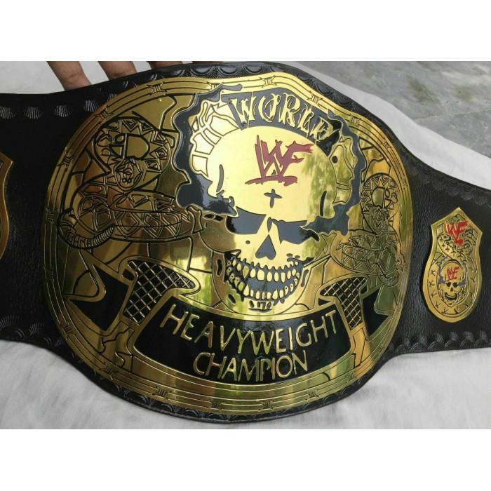 WWF Stone Cold Smoking Skull World Heavyweight Championship Belt (2mm plate)