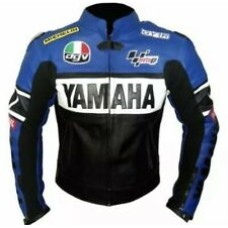 Yamaha Custom Made Best Quality Racing Leather Jacket For Mens