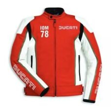 Ducati Custom Made Best Quality Racing Leather Jacket For Mens